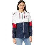 Tommy Hilfiger Color-Block Jacket with Logo Tape Bright White Multi
