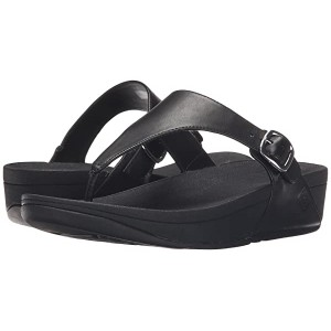 FitFlop The Skinny Leather All Black