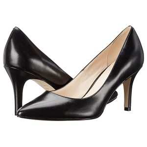 Cole Haan Juliana Pump 75mm Black Leather