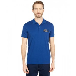 Short Sleeve Solid with Large Croc
