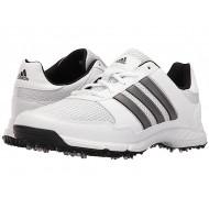 adidas Golf Tech Response Ftwr White/Dark Silver Metallic/Core Black