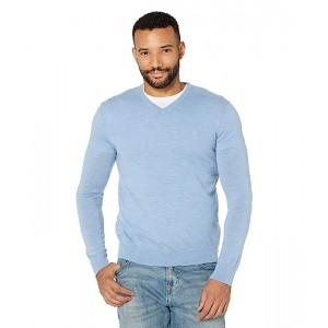 Calvin Klein Merino V-Neck Sweater Linen Blue