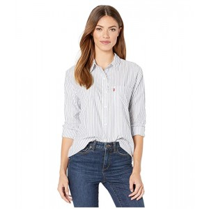 Levis Womens Ultimate Boyfriend Button Back Millbrae Sodalite Blue