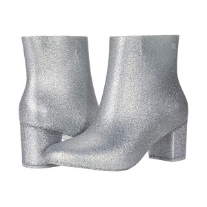 Melissa Shoes Femme Boot AD Silver Glitter