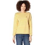Long Sleeve Jersey Stripes Tee
