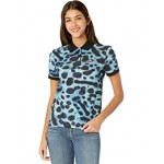 Lacoste National Geographic Short Sleeve All Over Print Polo Frog/Frog