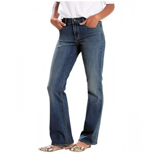 Levis Womens Classic Bootcut Hits of Embroidery