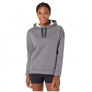 Nike Therma All Time Ribbon Drawcord Pullover Hoodie Black/Heather/Black
