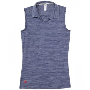 Space-Dyed Sleeveless Polo Shirt (Little Kidsu002FBig Kids)