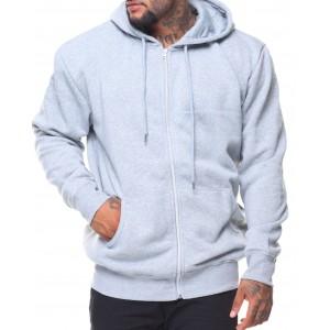 fleece full zip hoodie sweatshirt (b&t)