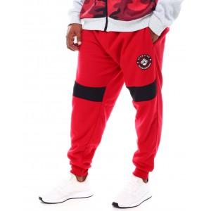 contrast pieced sweatpants (b&t)