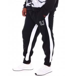 contrast stripe sweatpants (b&t)