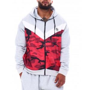 colorblock hoodie (b&t)