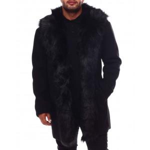 wool long jacket (b&t)