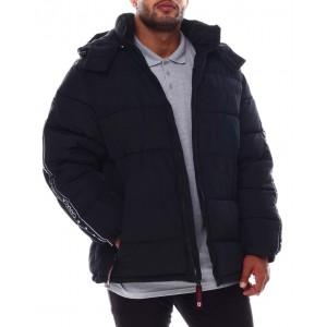 hooded puffer coat (b&t)
