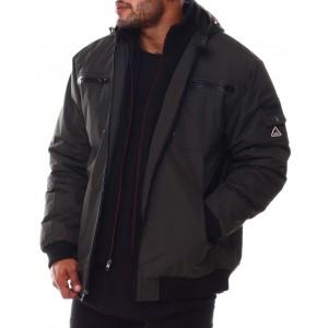 amped moto - style fashion jacket (b&t)