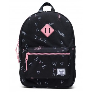 heritage youth meow backpack (unisex)