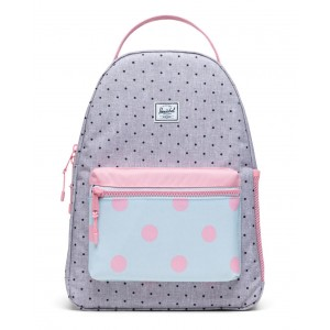 nova youth polka dot backpack (unisex)