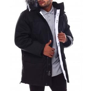 avalanche heavyweight tech parka coat (b&t)