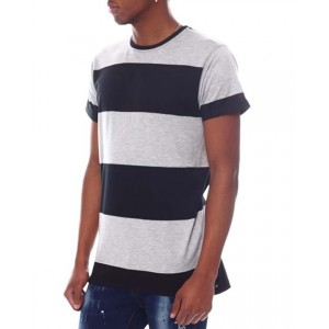 rugby stripe s/s tee
