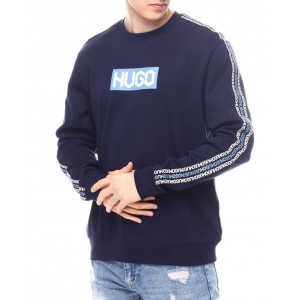 dubeshi crewneck logo sweatshirt