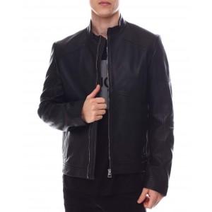 lonus moto leather jacket