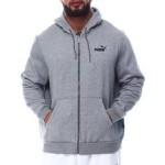 essential small logo full zip hoodie (b&t)