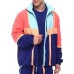 pe court side woven jacket
