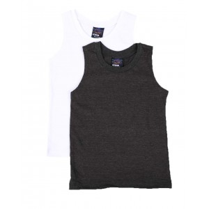 2 pack solid tank tops (2t-4t)