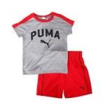 2 pc performance tee & mesh shorts set (4-7)