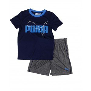 2 pc performance tee & shorts set (4-7)
