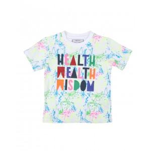 health wealth wisdom tee (4-7)