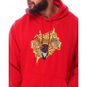 medusa ribbon hoodie (b&t)