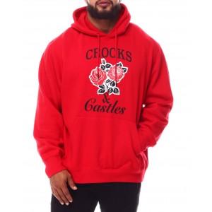 roses hoodie (b&t)