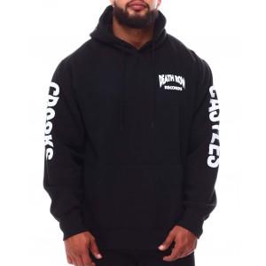 crooks x death row core hoodie (b&t)