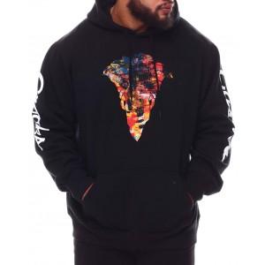 bandito silhouette hoodie (b&t)