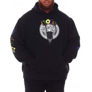 multi block bandito hoodie (b&t)