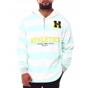 youth league stripe hoodie (b&t)