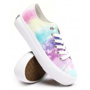 beyley102l tie-dye canvas sneakers