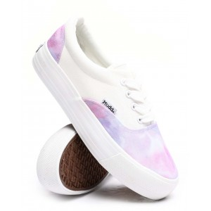 poppy37l lace up pattern sneakers