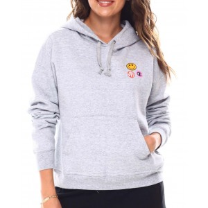 power blend relaxed hoodie