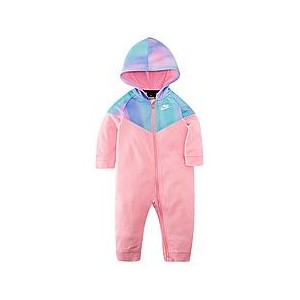 Girls Infant Nike Unicorn Tie-Dye Therma Coveralls