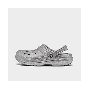 Unisex Crocs Classic Glitter Lined Clog Shoes