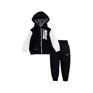 Boys Infant Nike Therma Full-Zip Hoodie and Jogger Pants Set