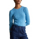 Julianna Cable Knit Cashmere Sweater