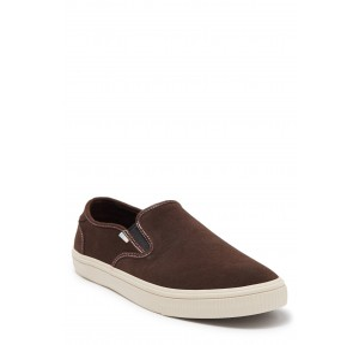 Baja Suede Slip-On Sneaker