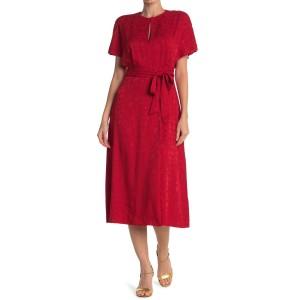 Albarice Belted Midi Dress
