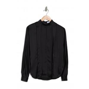 Alviette Pleated Long Sleeve Blouse