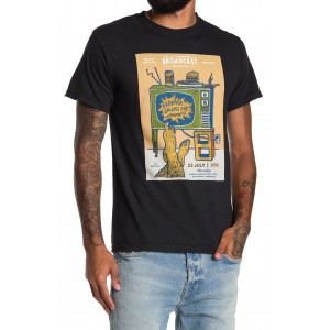 Amster Crew Neck Cotton Graphic T-Shirt