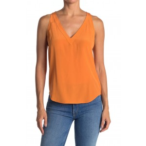 Aylee Sleeveless Silk Shirt